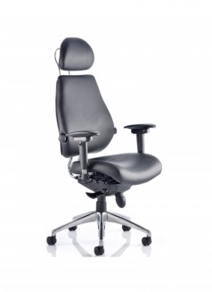 Dynamic Chiro Plus Ultimate Leather Posture Chair